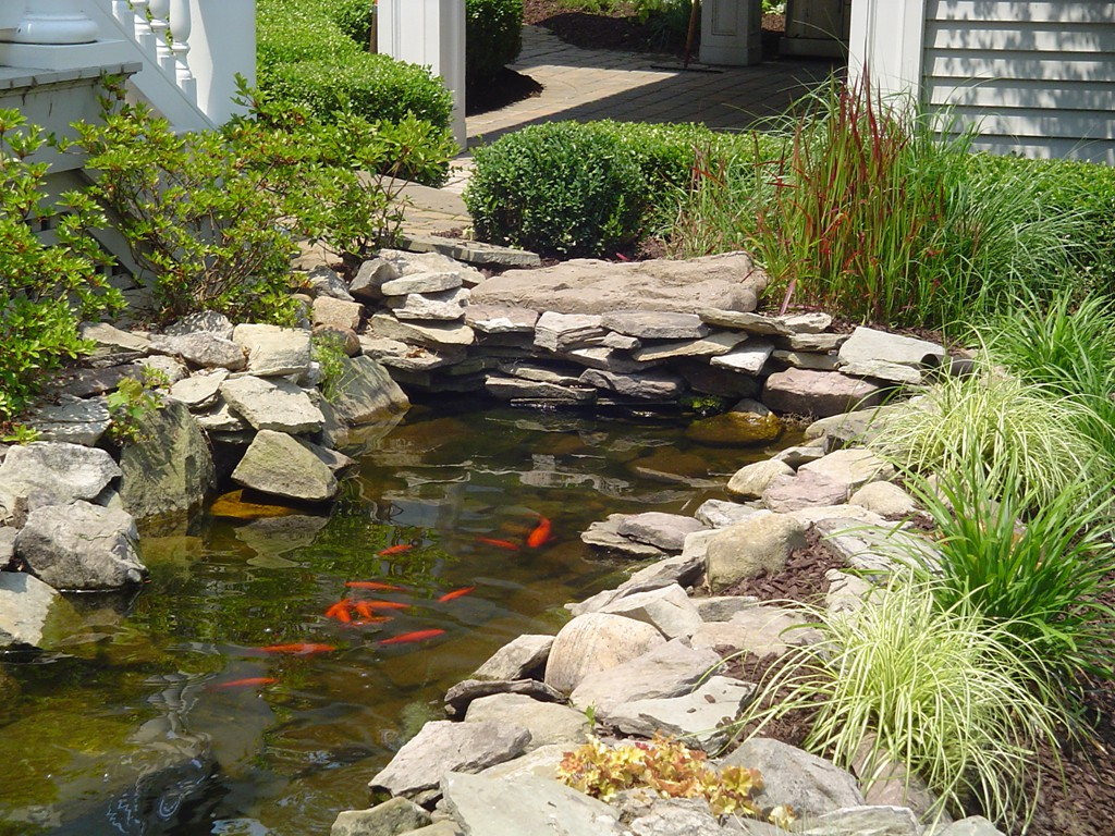 mccarrell landscape construction pittsburgh pa ponds and